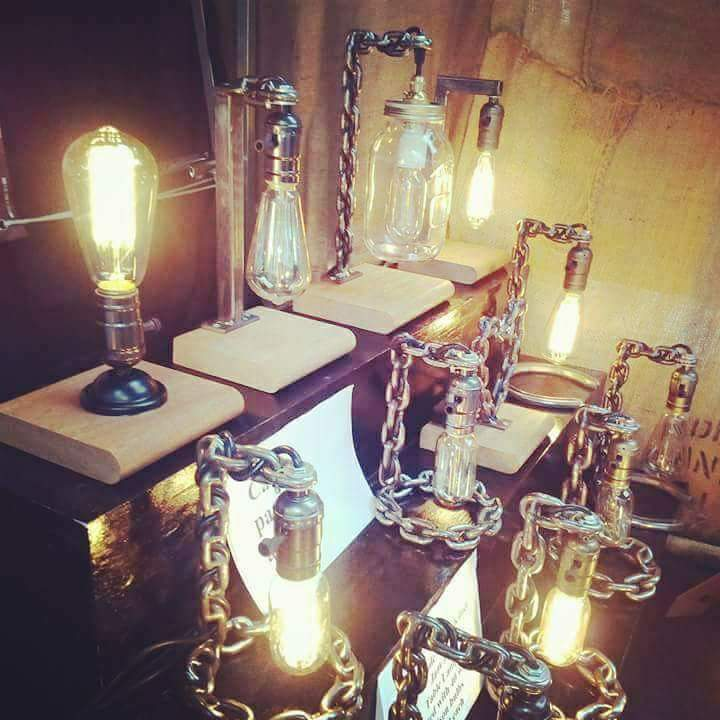 Retro and Rustic Lamps Lifestyle